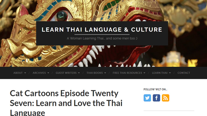 LEARN THAI LANGUAGE & CULTURE